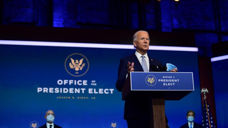Președintele ales Joe Biden
