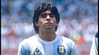 Diego Maradona, campion mondial cu Argentina în1986