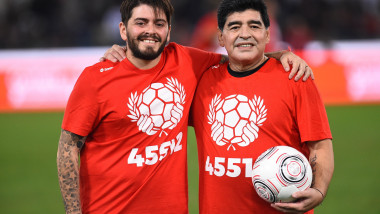 Diego Armando Maradona, match of peace, Football, Rome, Italy - 12 Oct 2016