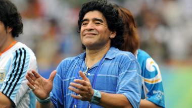 Ultimele cuvinte rostite de Diego Maradona