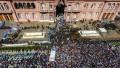 haos priveghi maradona argentina