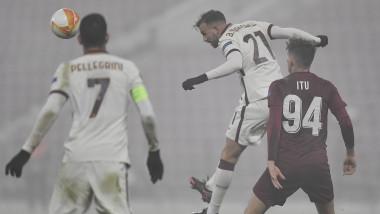 CLUJ NAPOCA - UEFA EUROPA LEAGUE - CFR CLUJ - AS ROMA - 26 NOI 2020