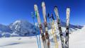 echipament de schi pe zapada