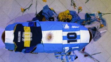 Maradona's funeral chapel