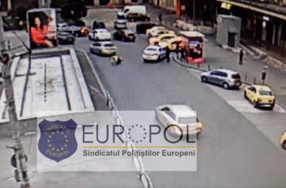 Poliţist lovit intenţionat cu maşina de un şofer în zona Gării de Nord din Bucureşti