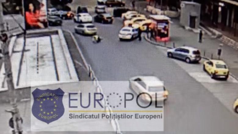 politist lovit de maşină în zona Gara de Nord din Bucureşti