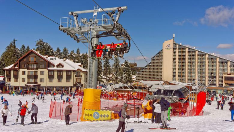 staţiune de schi în Boroveţ, Bulgaria
