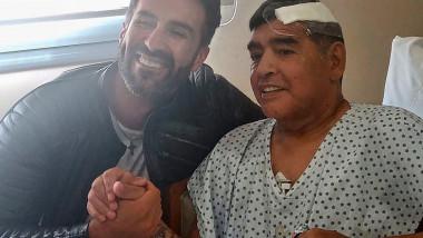 Leopoldo Luque si Maradona la 11 noiembrie profimedia-0571259256