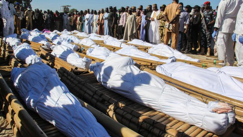 110 de civili au fost ucişi în Nigeria, autorităţile suspectează Boko Haram