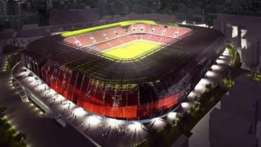 Macheta noului stadion Dinamo