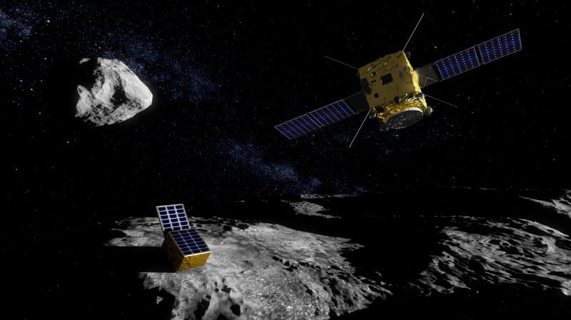 Misiunea HERA de apărare planetară, realizată de Agenţia Spaţială Europeană (ESA)