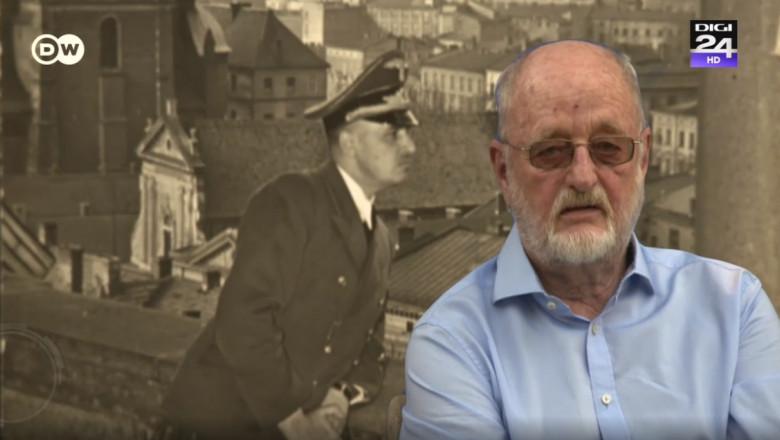 """Niklas Frank nu-și poate ierta tatăl, Hans Frank, care a fost adjunctul lui Hitler în Polonia, fiind supranumit și""""măcelarul Poloniei"""