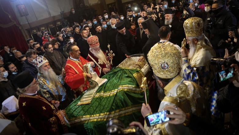 irineu patriarh deces catafalc belgrad serbia profimedia-0570157325