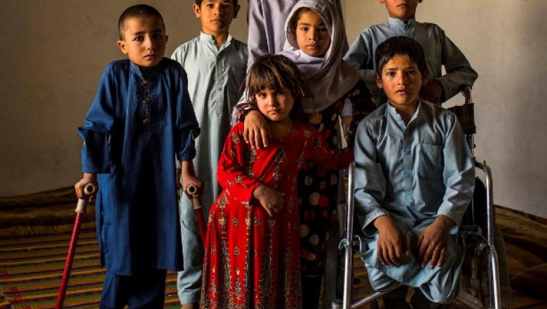 Peste 26.000 de copii au fost uciși sau răniți în conflictele din Afganistan