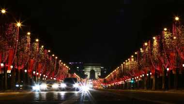 FRANCE-PARIS-CHAMPS ELYSEES-CHRISTMAS-LIGHTS