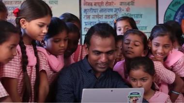 Ranjitsinh Disale a primit un premiu de un milion de dolari pentru eforturile lui în educaţie