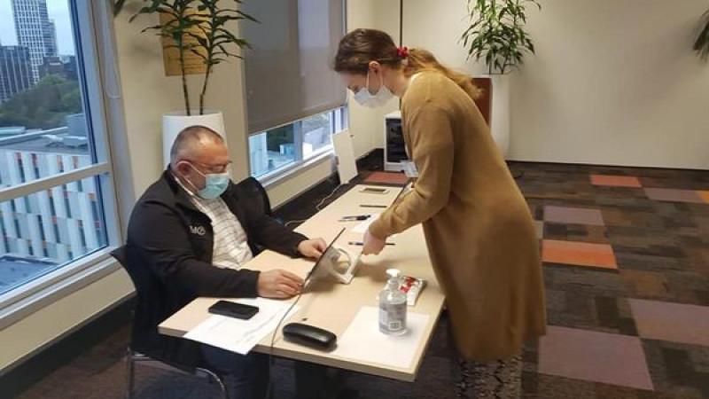 primul votant din lume