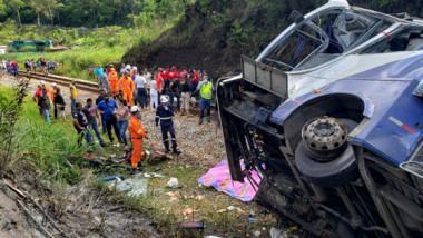 accident autobuz brazilia