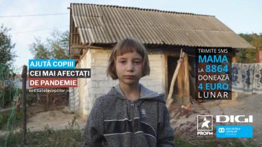 Campanie SOS Satele Copiilor & PROFM
