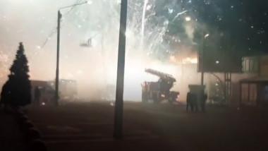 incendiu artificii rusia
