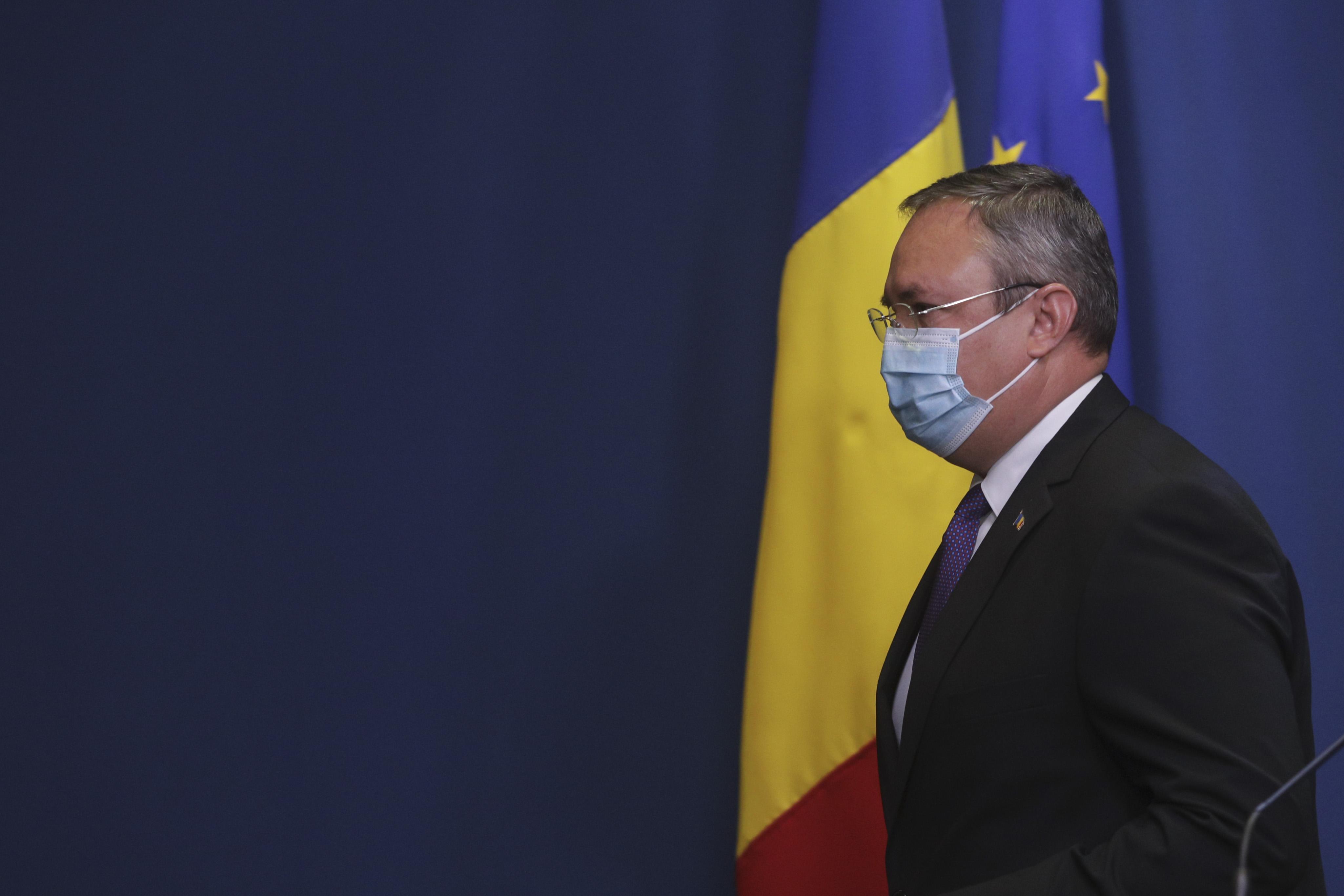 Ciucă: Chem toți actorii politici responsabili să susțină formarea guvernului. România are nevoie de un executiv cu puteri depline