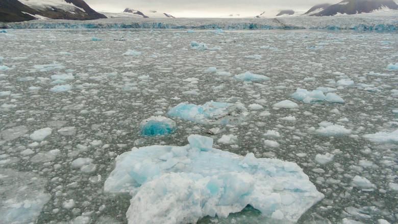 Efectele schimbărilor climatice în zona arctică.