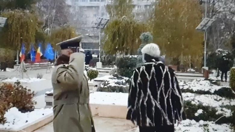 simona draghincescu ceremonie militara