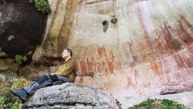 picturi rupestre descoperite in amazon