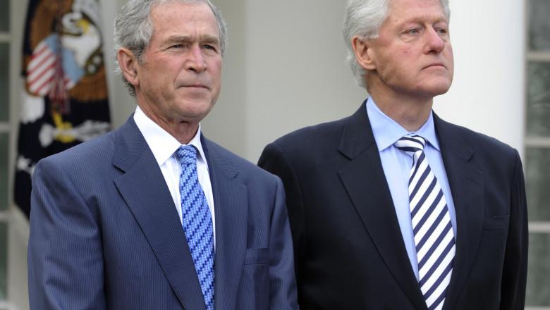 george w bush bill clinton