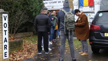 sectie de votare diaspora marea britanie londra