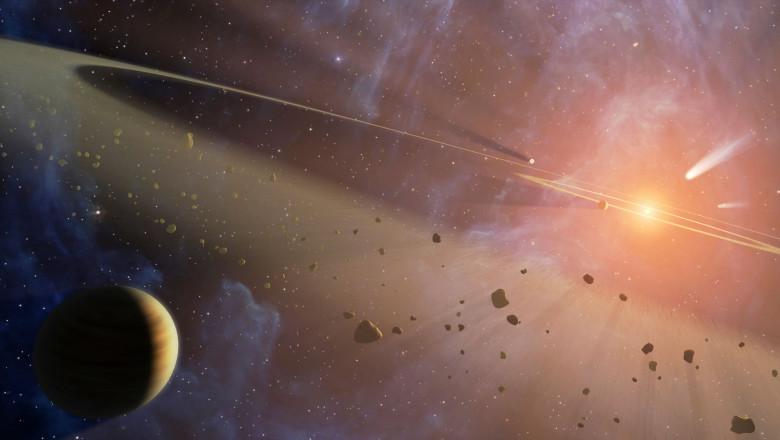 planeta sistem solar orbita