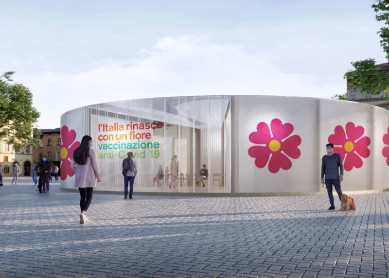 centru vaccinare italia - stefano boeri architetti via cnn