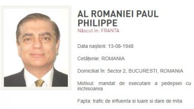 Paul al României a fost pus pe lista persoanelor urmărite de Poliția Română