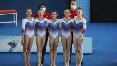 echipa gimnasitica junioare