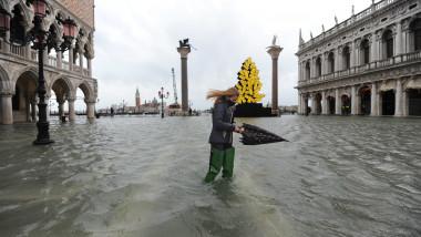 Inundatii in Venetia