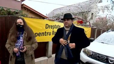 Rodica Boancă și Adrian Costea au fost aleși senatori din partea AUR. Foto: Digi24