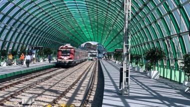 tren de la Gara de Nord spre aeroportul Otopeni