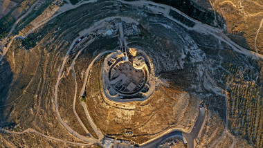 Cetatea Irodion din Ierusalim văzută de sus