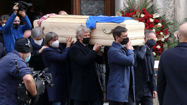 Funeral mass for late Italian soccer player Paolo Rossi in Vincenza