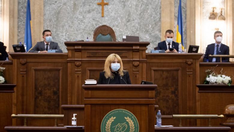 Anca Dragu discurs senat 21 dec 2020