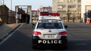 Masina de politie din Japonia