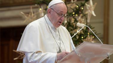 papa francisc mesaj de crăciun