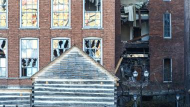 Explozia care a avut loc în ziua de Crăciun în Nashville a fost provocată. Foto: GettyImages