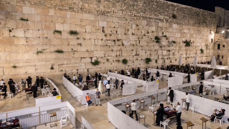 Zidul Plângerii in Ierusalim