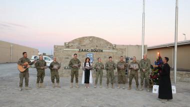 Cum au sărbătorit Crăciunul militarii români din Afganistan