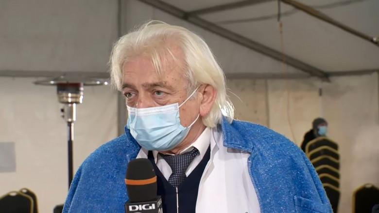 """Dr. Sorin Petrea, medic epidemiolog la Institutul """"Matei Balș"""" din București."""