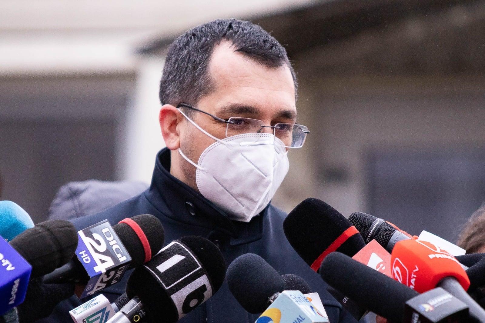 CTP, despre declarațiile lui Voiculescu privind cifrele COVID: Încercare politică de a arăta că ieri a fost întunericul și azi e lumina