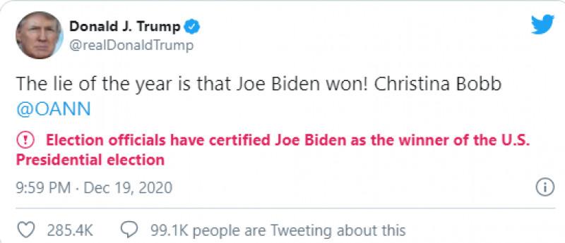 Twitter mesaje marcate Trump