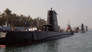 Trei submarine taiwaneze