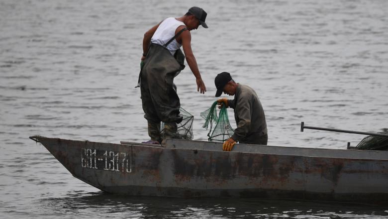 profimedia-pescar coreea de nord
